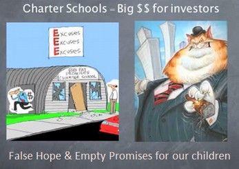 Image result for corrupt charter schools
